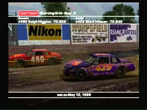 Let's Race - Nascar Dirt to Daytona - Anoka City Speedway - Custom AI Difficulty 105 %