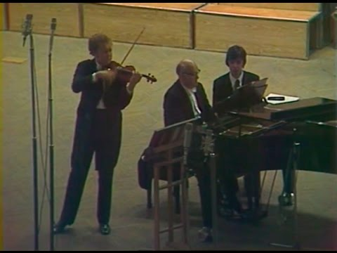 Oleg Kagan & Sviatoslav Richter play Mozart & Beethoven Violin Sonatas - video 1975