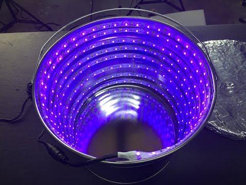 DIY UV LED Resin Curing Bucket