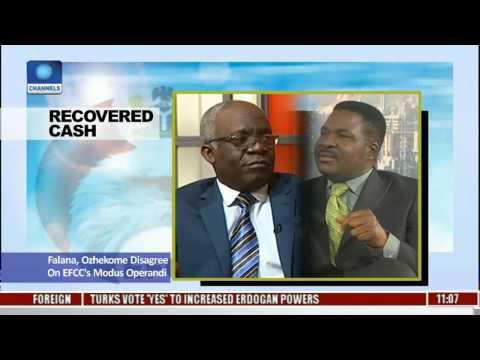 Falana,Ozekhome Disagree On EFCC's Modus Operandi