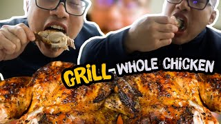 How to Grill a WHOLE CHICKEN   *MOST JUICIEST RECIPE
