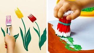 ١٧ من خدع وحيل الرسم المبتكرة للأطفال