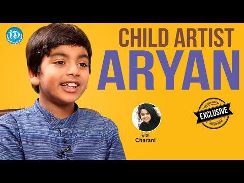 Fidaa Movie Child Artist Aryan Exclusive Interview || Talking Movies With iDream #465