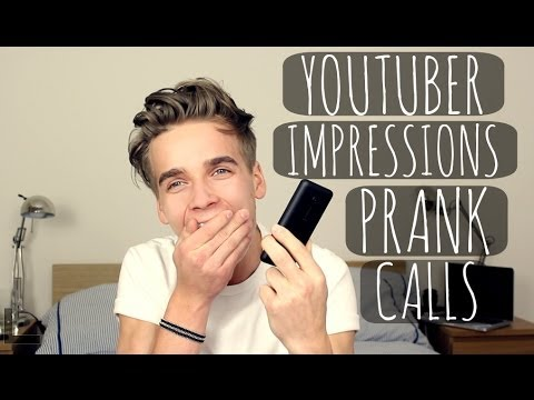 IMPRESSIONS PRANK CALLS YouTube games