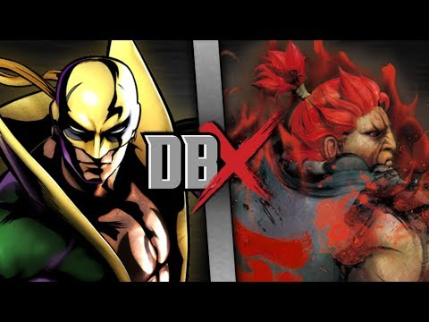 Iron Fist VS Akuma (Marvel VS Street Fighter) | DBX