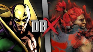 Iron Fist VS Akuma | DBX thumbnail