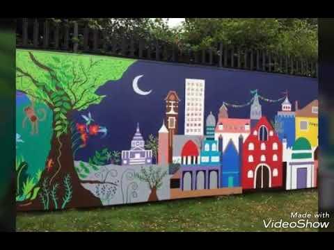 Lukisan Dinding Sekolah Cikimm Com