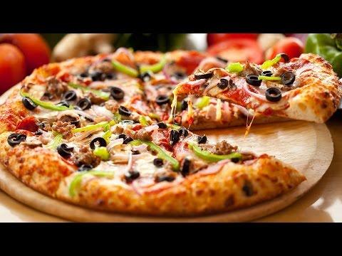 صورة  طريقة عمل البيتزا اسهل طريقة عمل البيتزا عجينة وحشوة في المنزل وصفة سهلة, واقتصادية طريقة عمل البيتزا من يوتيوب