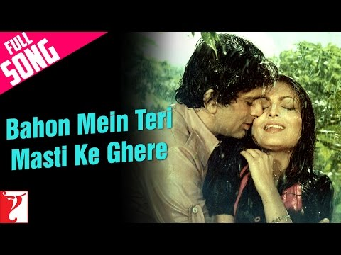 Bahon Mein Teri Masti Ke Ghere - Full Song   Kaala Patthar   Shashi Kapoor   Parveen Babi