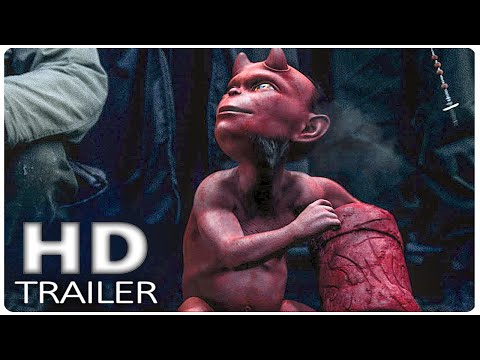 HELLBOY Final Trailer (2019) 4k 60fps, David Harbour Anti Hero Movie HD