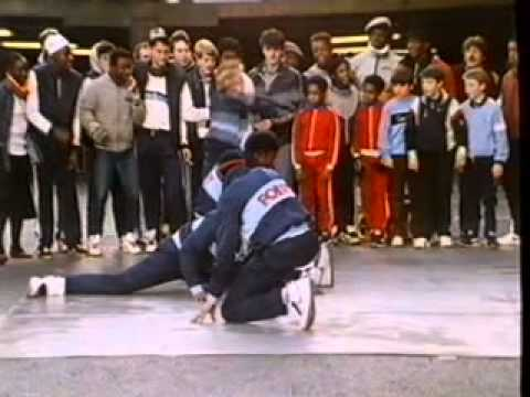 B Boys v Future Shock B Boy Battle ITV Saturday Starship Nov 1984