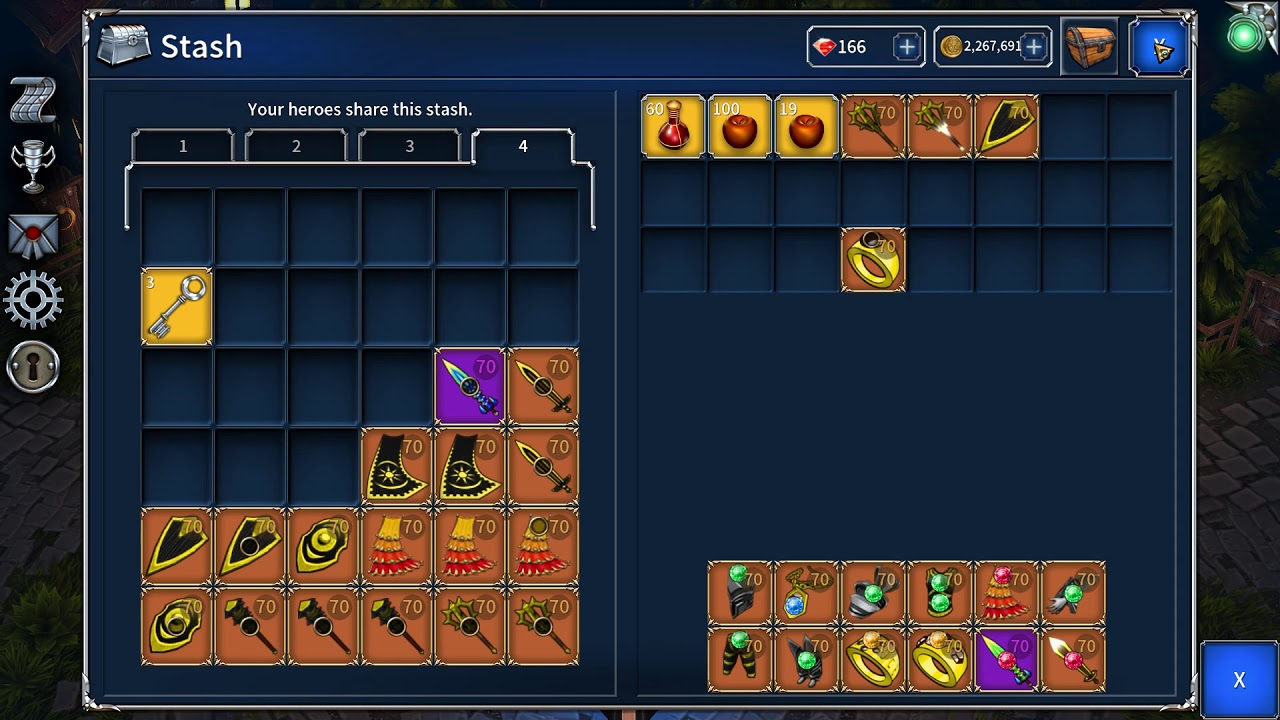 Eternium 1 3 31 Update with new skill, items crafting!