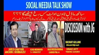 PMLN FUTURE and SANEHA MODEL TOWN, Discussion with JG the social media talk show thumbnail