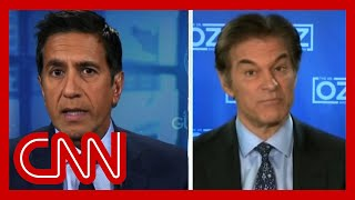 Dr. Gupta reacts to Dr. Oz citing new data on Fox News