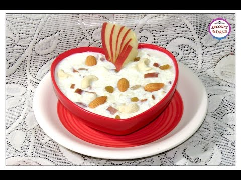 After Delivery Indian Diet Episode 2 - Milk and Apple Daliya / Dalia ( in Hindi ) for New Moms.
