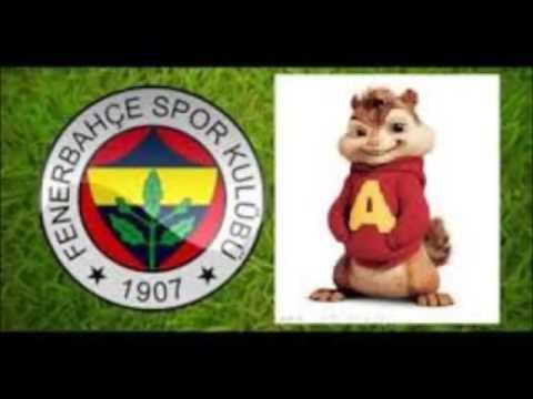 Fenerbahçe RAP Marşı - Moskape Benim Adım Fenerbahçe -  Alvin ve Sincaplar