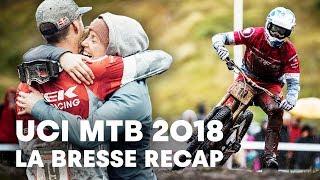 Full Recap of France's MTB Downhill Stop. | UCI MTB 2018