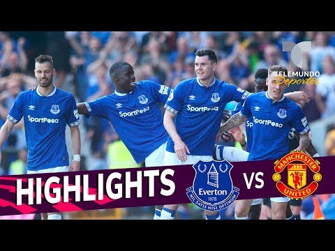 Everton vs. Manchester United: 4-0 Goals & Highlights | Premier League | Telemundo Deportes