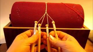 Как сплести  плетешок на коклюшках? Осваиваем кружевоплетение на коклюшках