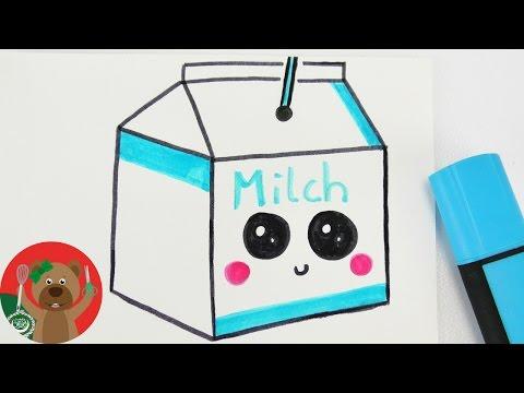 كيفية رسم علبة الحليب الضاحكة رسومات جميلة للأطفال خطوة بخطوة Youtube