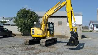 2008 Komatsu PC138US LC-8 Excavator: Running & Operating Inspection!