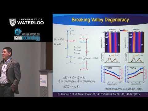 Professor Hao Zeng - Waterloo Institute for Nanotechnology (WIN) Seminar
