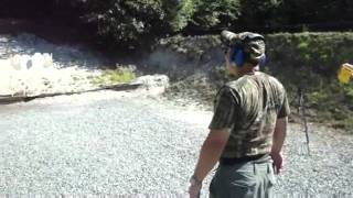 tim practicing ipsc targets glock 17 with level 3 police holster result aa aa aa ad