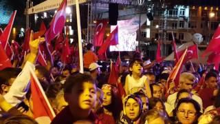 Kayseri Demokrasi Nöbeti Mustafa Çeçeli