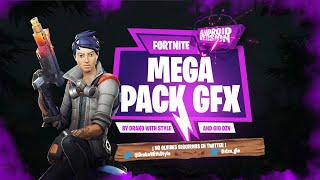 TOTALLY FREE FORTNITE GFX PACK FOR ANDROID!!! PACK WITH DRAKO WITH STYLE!!!