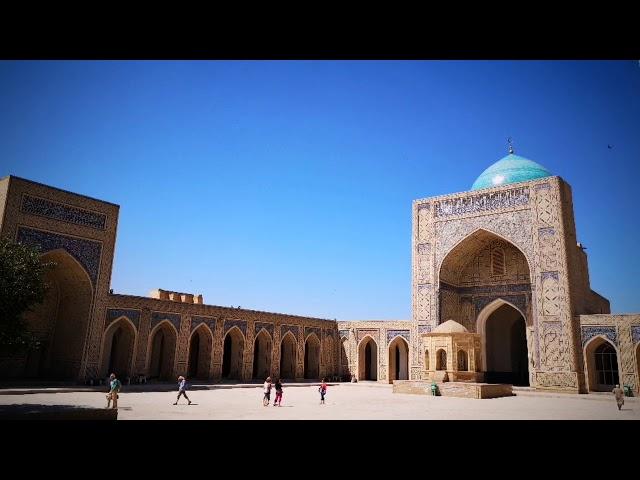 Buchara i Samarkanda motocyklem