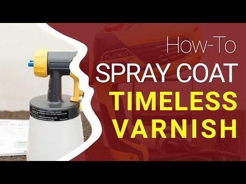 HVLP Spray Application Tutorial – Timeless Varnish