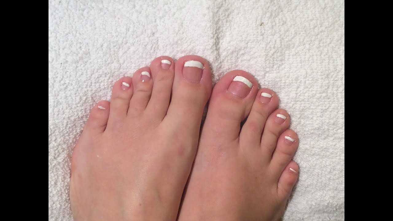 French Toe Nails