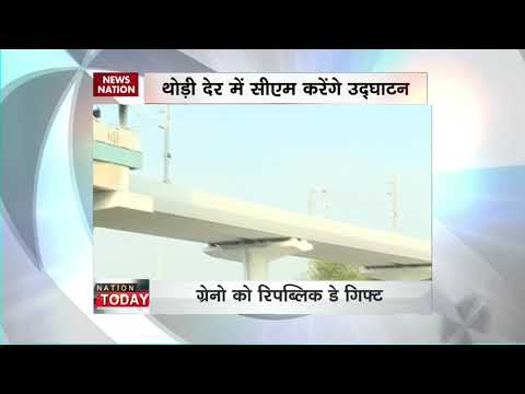 Noida-Greater Noida Aqua Line Metro inaugurated today