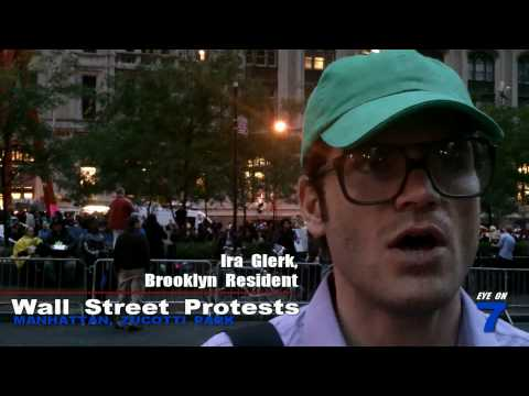 "New Yorker on ""Occupy Wall Street"""