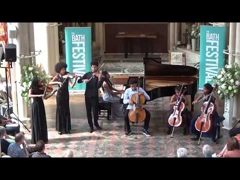 KannehMason Family play Ave Maria with Hobbit intro at Bath Festival 2018