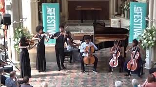 Kanneh-Mason Family play Ave Maria (with Hobbit intro) at Bath Festival 2018