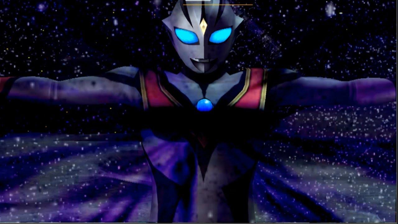 Sieu nhan game play   Ultraman FE3   Elvi Tiga đánh bại tất cả các ultrman và quái vật