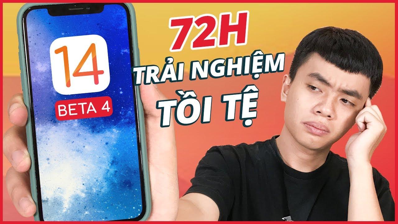 72H Trải Nghiệm CỰC TỒI TỆ  Với iOS 14 beta 4 - Anh Em KHÔNG NÊN Lên