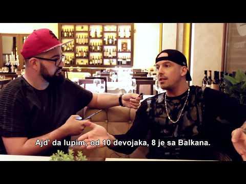 RAF Camora Interview Belgrade