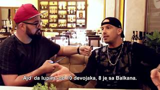 RAF Camora Interview Belgrade