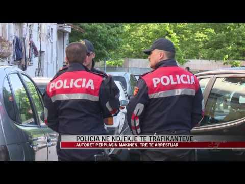 Tiranë, policia në ndjekje të trafikanteve - News, Lajme - Vizion Plus