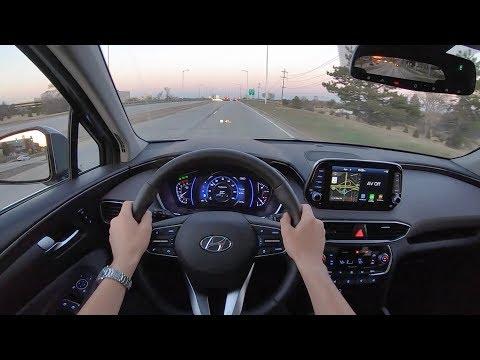 2019 Hyundai Santa Fe Ultimate 2.4 AWD - POV Sunset Drive (Binaural Audio)