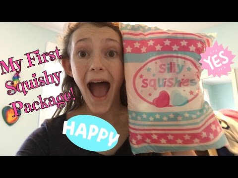 My First Squishy Package! (From Silly Squishies)