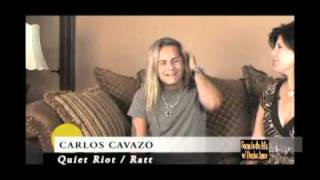 Carlos Cavazo (Quiet Riot/Ratt) & Blue Embrace on Focus in the Mix with Denise Ames Part 2