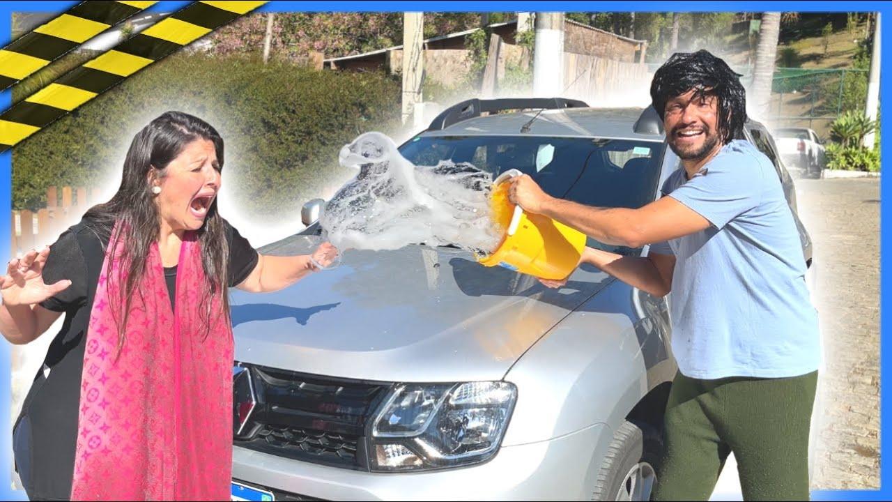 O POBRE e A MADAME !! Ele jogou água nela! ( Episódio 3 ) ( Web Série Anny e Eu Family )