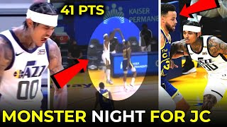 JORDAN CLARKSON MONSTER NIGHT, 41PTS! NAKALIGTAS SI STEPHEN CURRY!