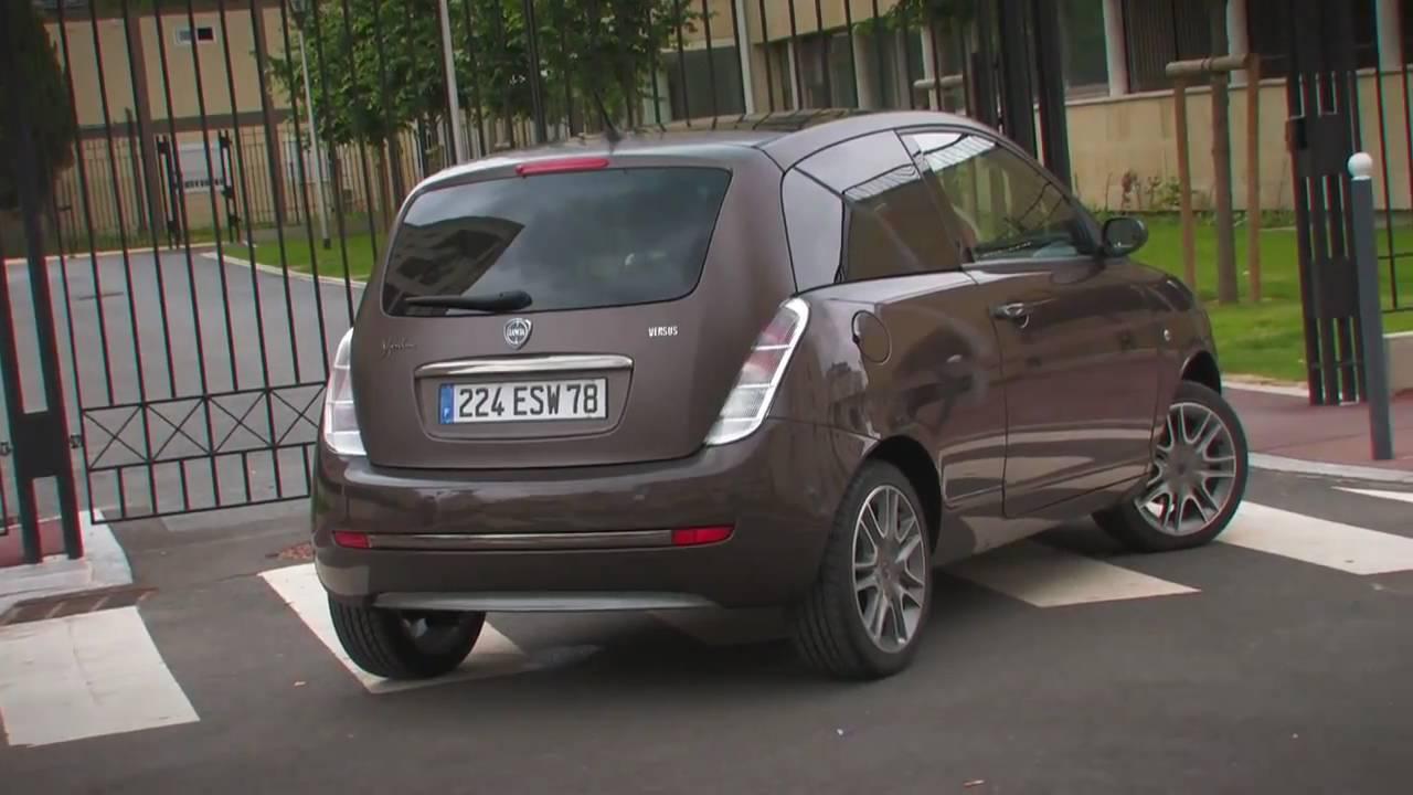 Essai auto Lancia Ypsilon Versus - YouTube