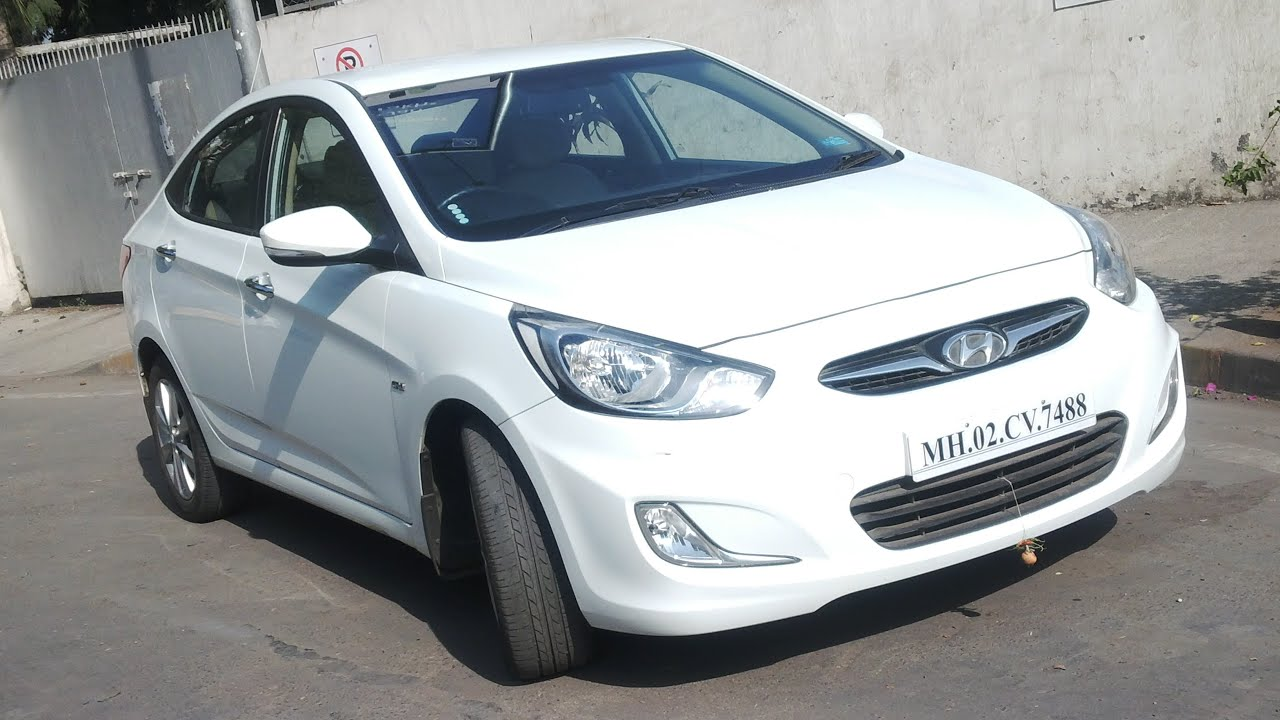 2013 6 Speed Hyundai Verna Fuldic 16 CRDI SX Optional For Sale In Mumbai