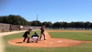 Jeffrey Chandler, Desert Mountain HS baseball CF, OF (here LF)