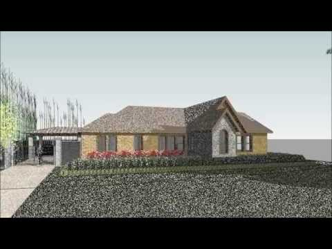1930's Bungalow Renovation Houston 3D Green Planet Architects Revit